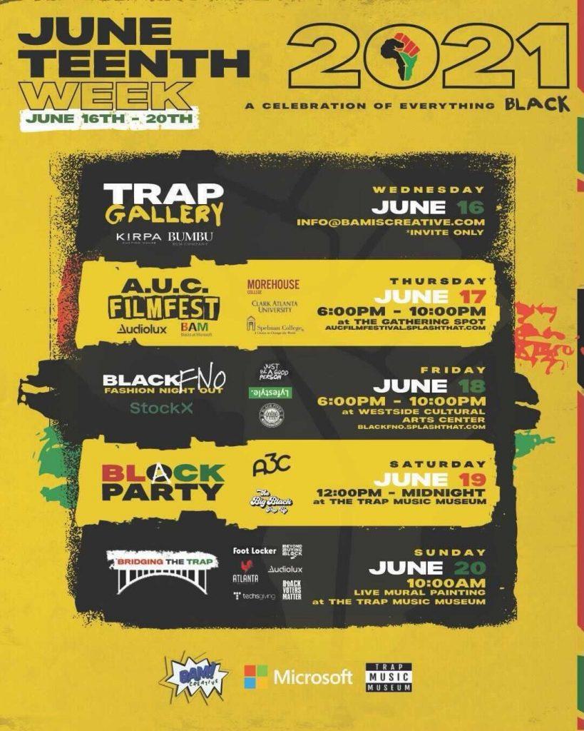 Trap Music Museum Juneteenth